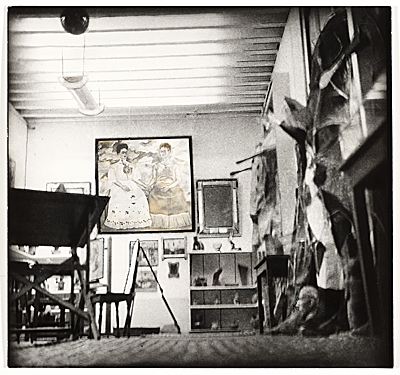Frida Kahlos studio