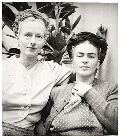 Emmy Lou Packard and Frida Kahlo