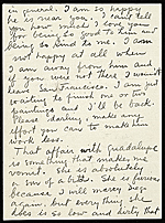 [Frida Kahlo, New York, N.Y. letter to Emmy Lou Packard, San Francisco, Calif. page 2]