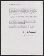 [Emmy Lou Packard letter to Robert De Velbiss, San Francisco, CA 1]