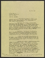 Emmy Lou Packard draft letter to Milton Meltzer, New York, NY