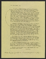 [Emmy Lou Packard draft letter to Milton Meltzer, New York, NY 1]