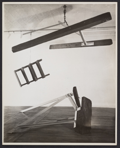 [Mark di Suvero, The A Train, 1965]