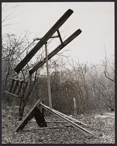 Mark di Suvero, The A Train, 1965 (outdoors)