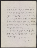 [Maxfield Parrish, Windsor, Vt. letter to Mr. Coates verso 1]