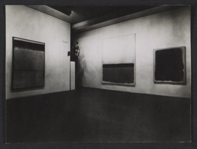 [Mark Rothko exhibition installation]