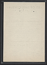 [Peggy Guggenheim, New York, N.Y. letter to Betty Parsons, New York, N.Y. verso 2]