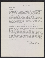 Forrest Bess letter to Betty Parsons