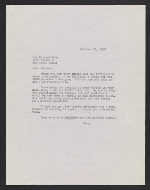[Betty Parsons letter to Forrest Bess ]