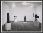 Installation view of an Eduardo Paolozzi exhibition at the Betty Parsons Gallery