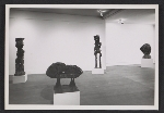 [Installation view of an Eduardo Paolozzi exhibition at the Betty Parsons Gallery ]