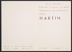 [Betty Parsons presents a first New York showing of oil paintings by Agnes Martin 1]