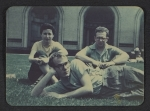 Andy Warhol, Dorothy Cantor, and Philip Pearlstein on Carnegie Institute of Technology campus