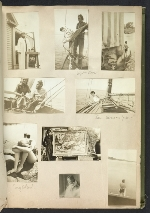 [Waldo Peirce photograph album page 34]