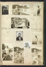 [Waldo Peirce photograph album page 36]
