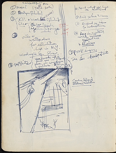 [James Penney's New York Sketchbook]