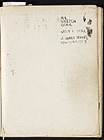 [James Penney's New York Sketchbook title page 1]