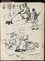 [James Penney's New York Sketchbook sketch 2]