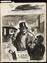 [James Penney's New York Sketchbook sketch 6]