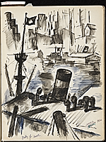 [James Penney's New York Sketchbook sketch 10]