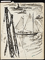 [James Penney's New York Sketchbook sketch 11]
