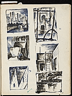 [James Penney's New York Sketchbook sketch 12]