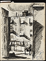 [James Penney's New York Sketchbook sketch 13]