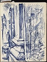 [James Penney's New York Sketchbook sketch 19]