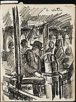 [James Penney's New York Sketchbook sketch 21]