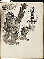 [James Penney's New York Sketchbook sketch 23]