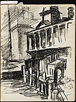 [James Penney's New York Sketchbook sketch 24]