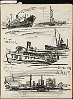 [James Penney's New York Sketchbook sketch 25]