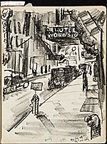 [James Penney's New York Sketchbook sketch 27]