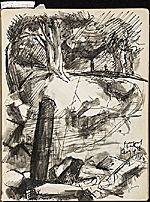 [James Penney's New York Sketchbook sketch 28]