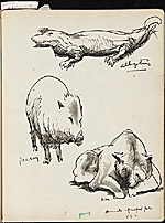 [James Penney's New York Sketchbook sketch 29]