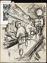 [James Penney's New York Sketchbook sketch 32]