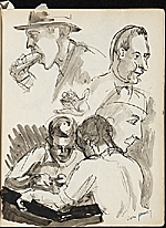 [James Penney's New York Sketchbook sketch 34]