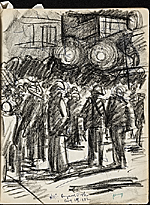 [James Penney's New York Sketchbook sketch 39]