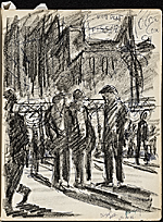 [James Penney's New York Sketchbook sketch 40]