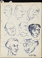 [James Penney's New York Sketchbook sketch 41]