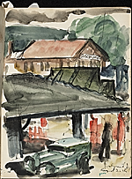 [James Penney's New York Sketchbook sketch 43]