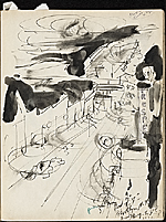 [James Penney's New York Sketchbook sketch 50]