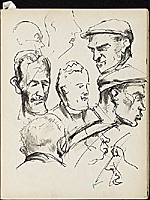 [James Penney's New York Sketchbook sketch 51]