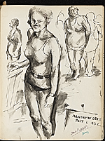 [James Penney's New York Sketchbook sketch 56]
