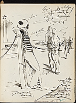 [James Penney's New York Sketchbook sketch 71]