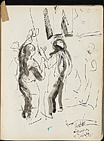 [James Penney's New York Sketchbook sketch 88]
