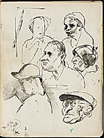 [James Penney's New York Sketchbook sketch 92]