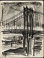 [James Penney's New York Sketchbook sketch 98]