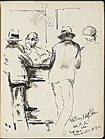 [James Penney's New York Sketchbook sketch 100]