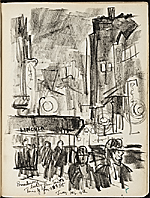 [James Penney's New York Sketchbook sketch 105]
